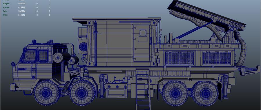 camión militar royalty-free modelo 3d - Preview no. 8
