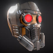 Star-Lord Helmet 3d model