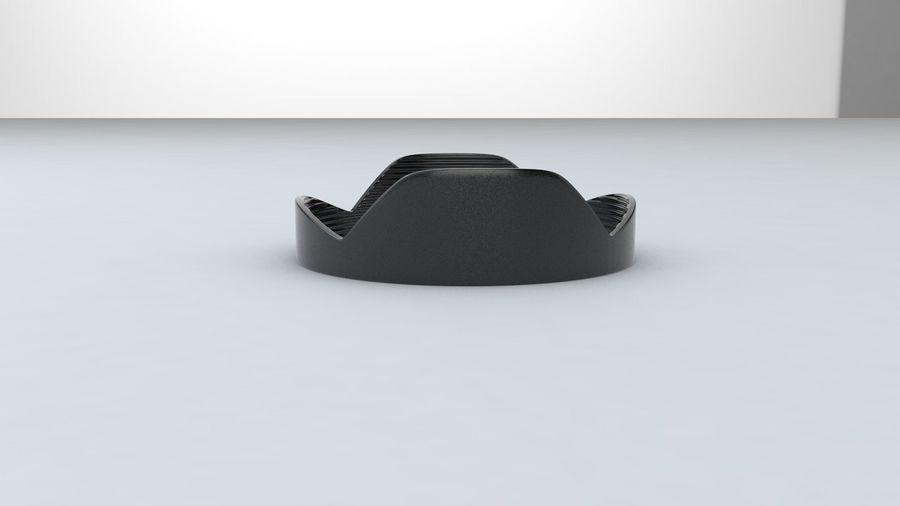 Lens Hood royalty-free 3d model - Preview no. 2