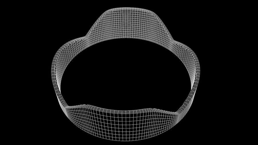 Lens Hood royalty-free 3d model - Preview no. 7