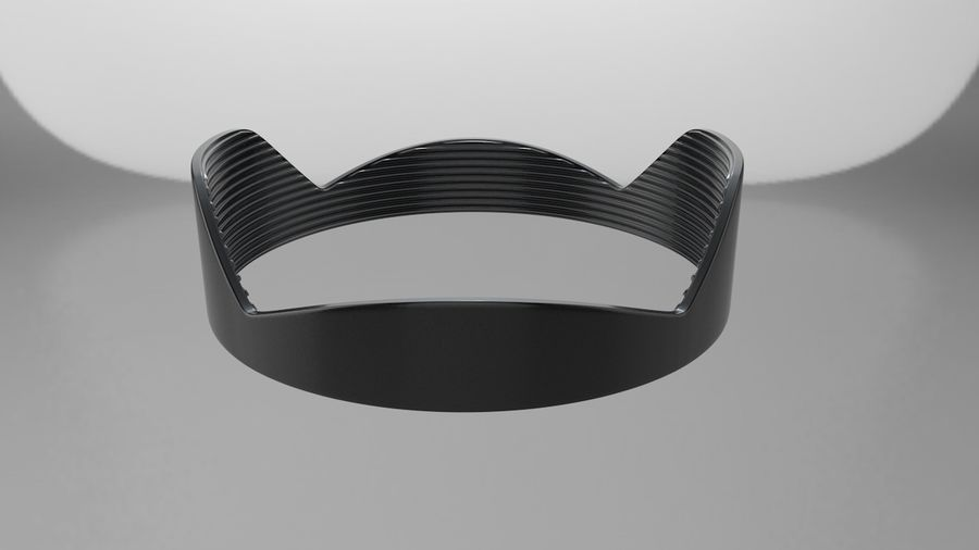 Lens Hood royalty-free 3d model - Preview no. 9