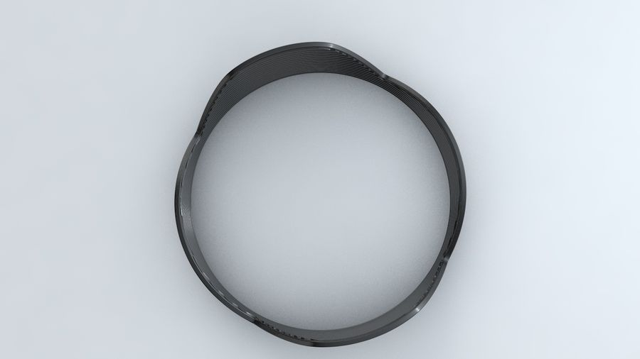 Lens Hood royalty-free 3d model - Preview no. 3