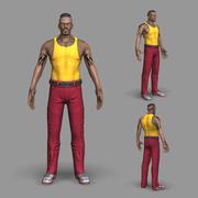 Gangster Asker 3d model