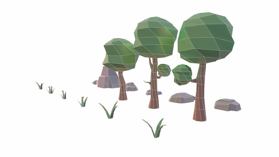 Forest Pack royalty-free 3d model - Preview no. 11