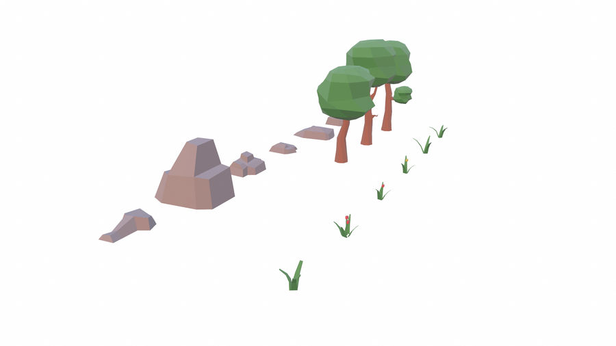 Forest Pack royalty-free 3d model - Preview no. 3