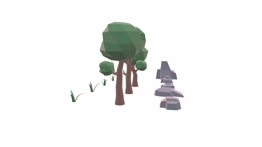 Forest Pack royalty-free 3d model - Preview no. 8