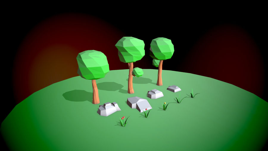Forest Pack royalty-free 3d model - Preview no. 1