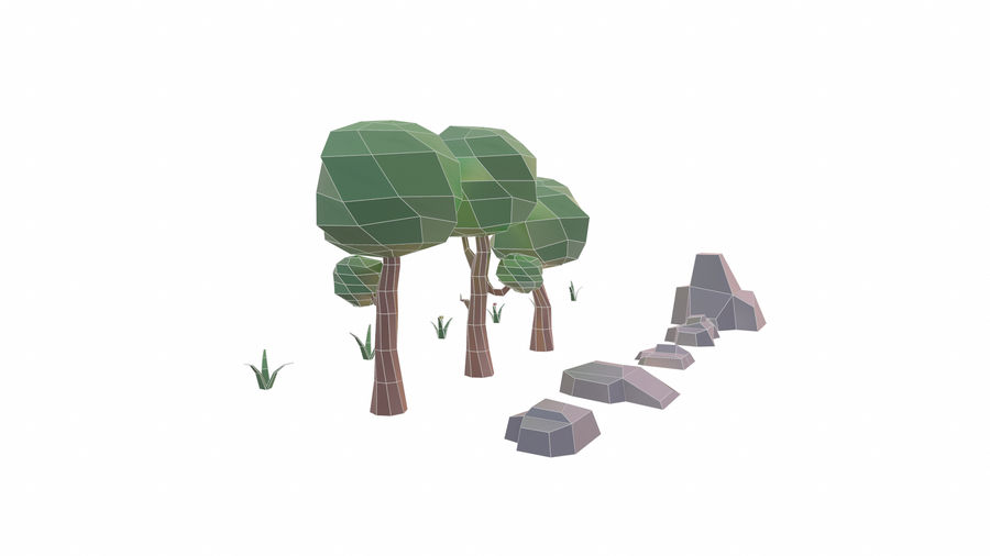 Forest Pack royalty-free 3d model - Preview no. 9