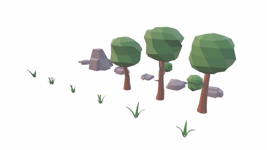 Forest Pack royalty-free 3d model - Preview no. 4