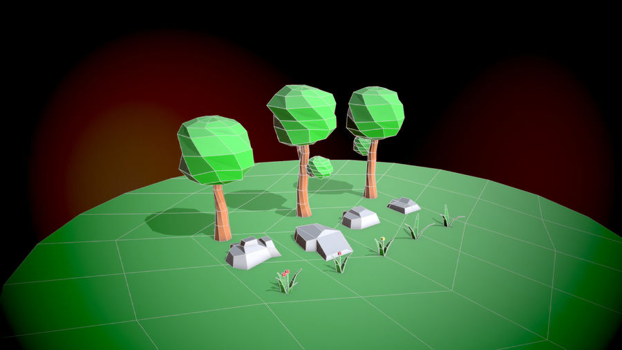 Forest Pack royalty-free 3d model - Preview no. 2