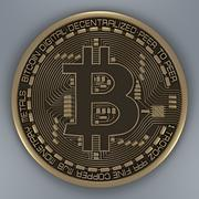 Bitcoin 3d model