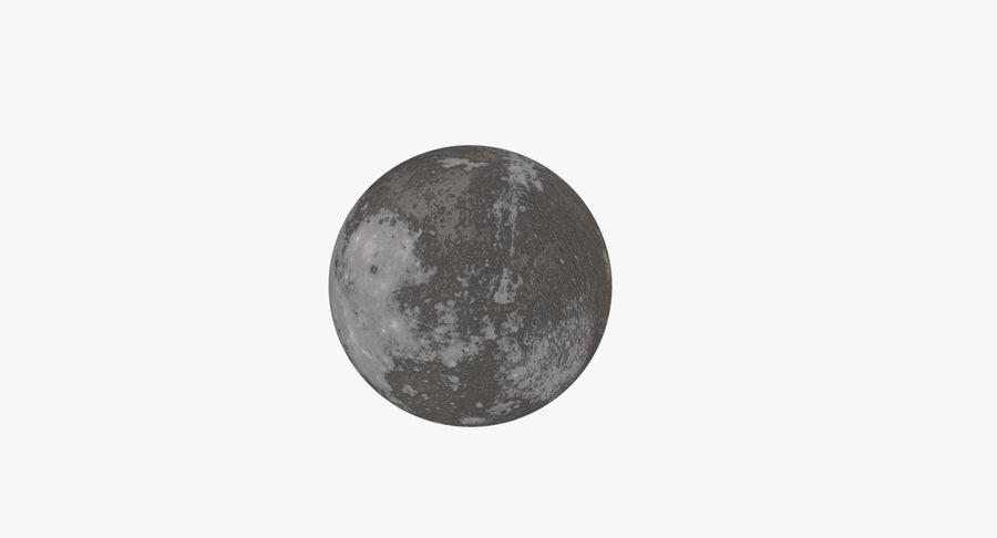 Mercury royalty-free 3d model - Preview no. 7