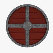 Щит викингов 3d model