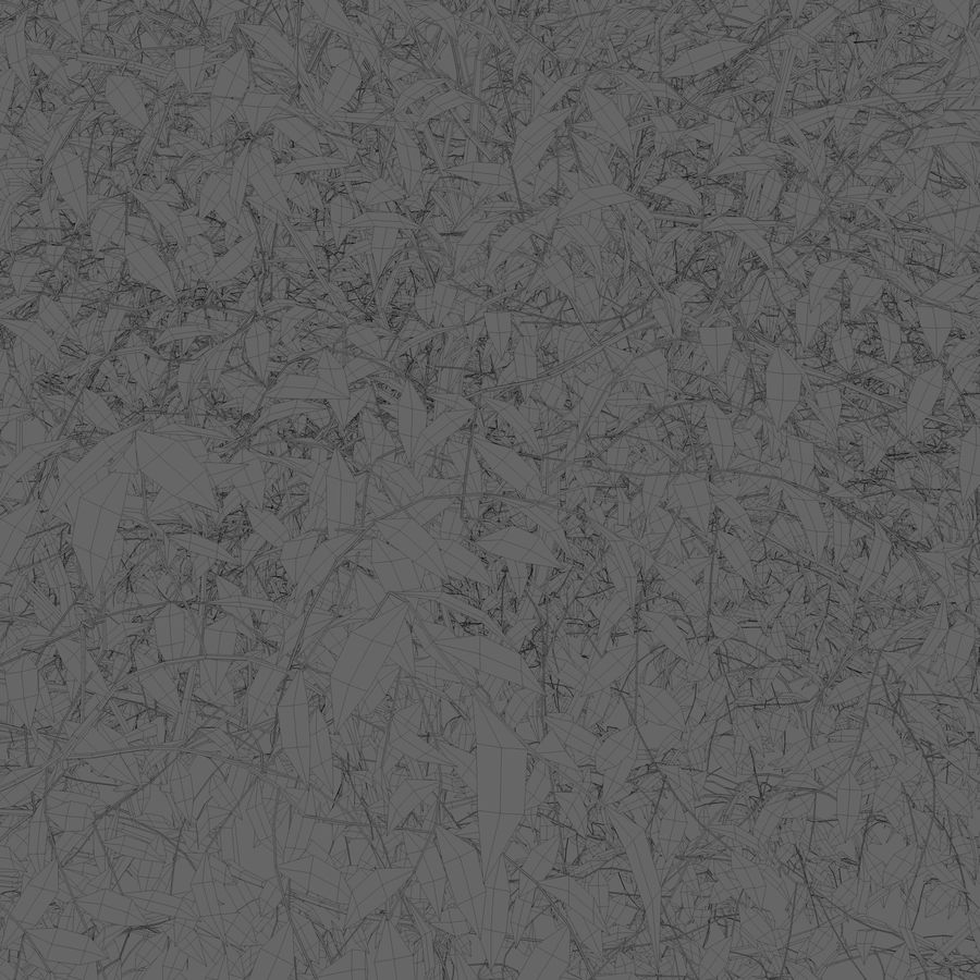 Albero a foglie decidue royalty-free 3d model - Preview no. 3