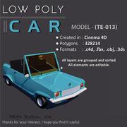 低ポリ車 3d model