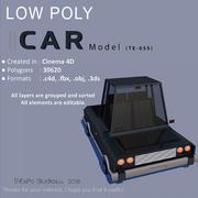 Low Poly Car modelo 3d
