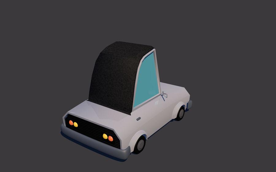 Low Poly Car    Model TE-043 royalty-free 3d model - Preview no. 3