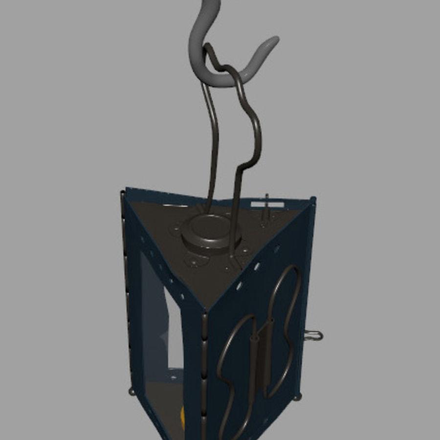 Lantern royalty-free 3d model - Preview no. 7