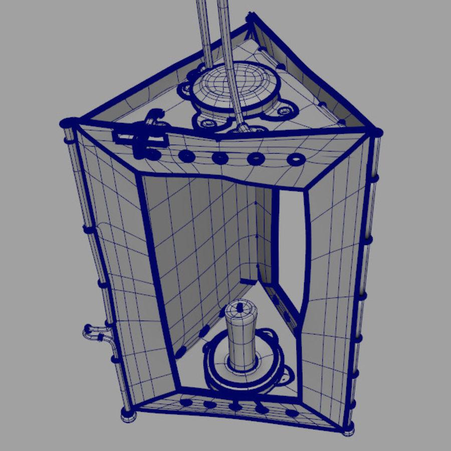 Lantern royalty-free 3d model - Preview no. 4
