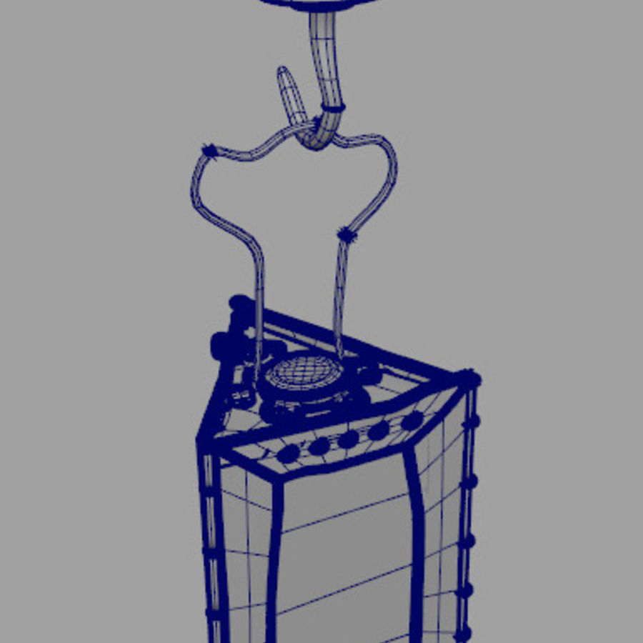 Lantern royalty-free 3d model - Preview no. 5