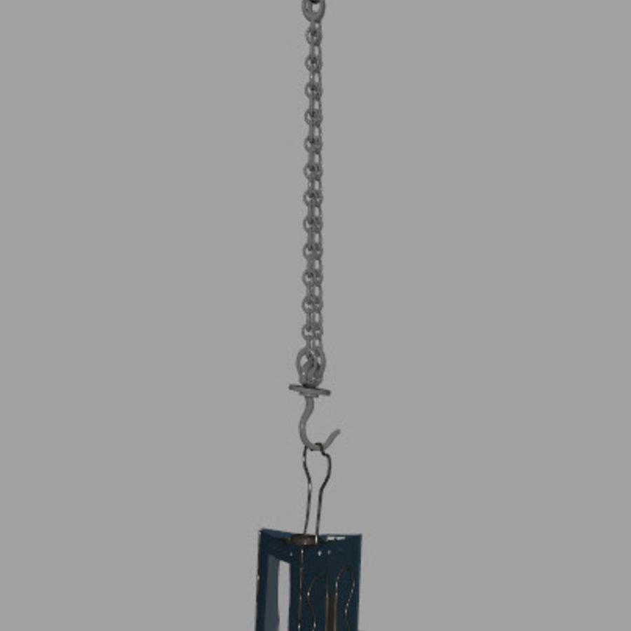 Lantern royalty-free 3d model - Preview no. 8