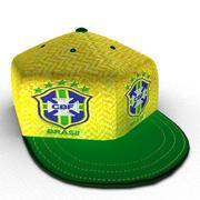 ブラジルのキャップ 3d model