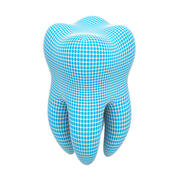 Mesh model of a tooth 3d model