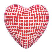 Modello a rete del cuore 3d model