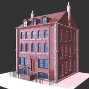 Londen gebouw 3d model