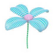 Çiçek 3d model
