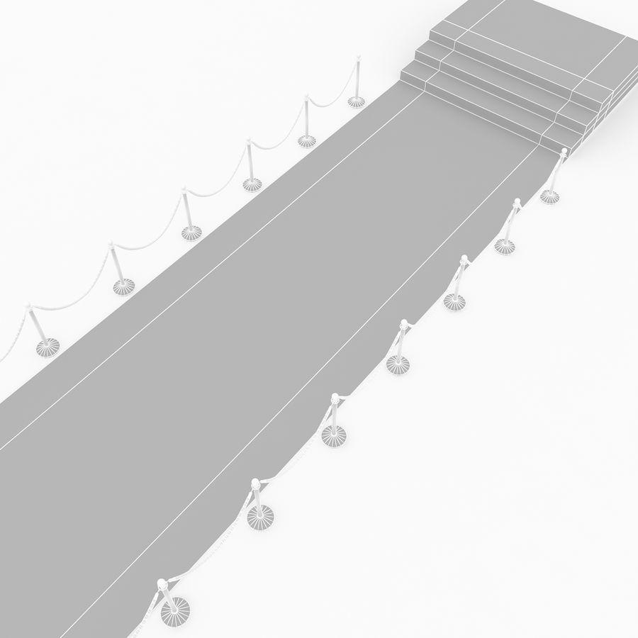 レッドカーペットシーン royalty-free 3d model - Preview no. 11