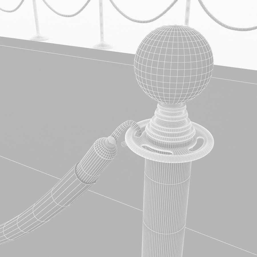 レッドカーペットシーン royalty-free 3d model - Preview no. 8