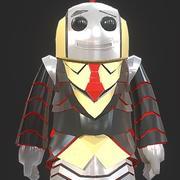Robot Quiz 3d model