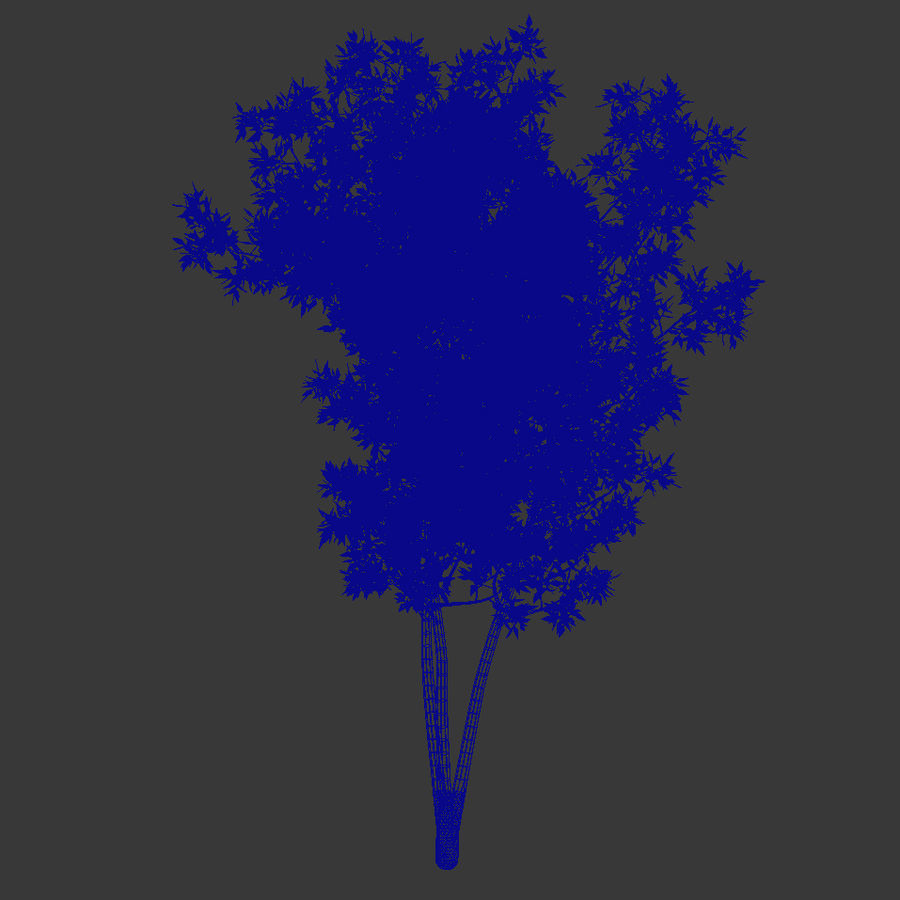 plant tree royalty-free 3d model - Preview no. 5