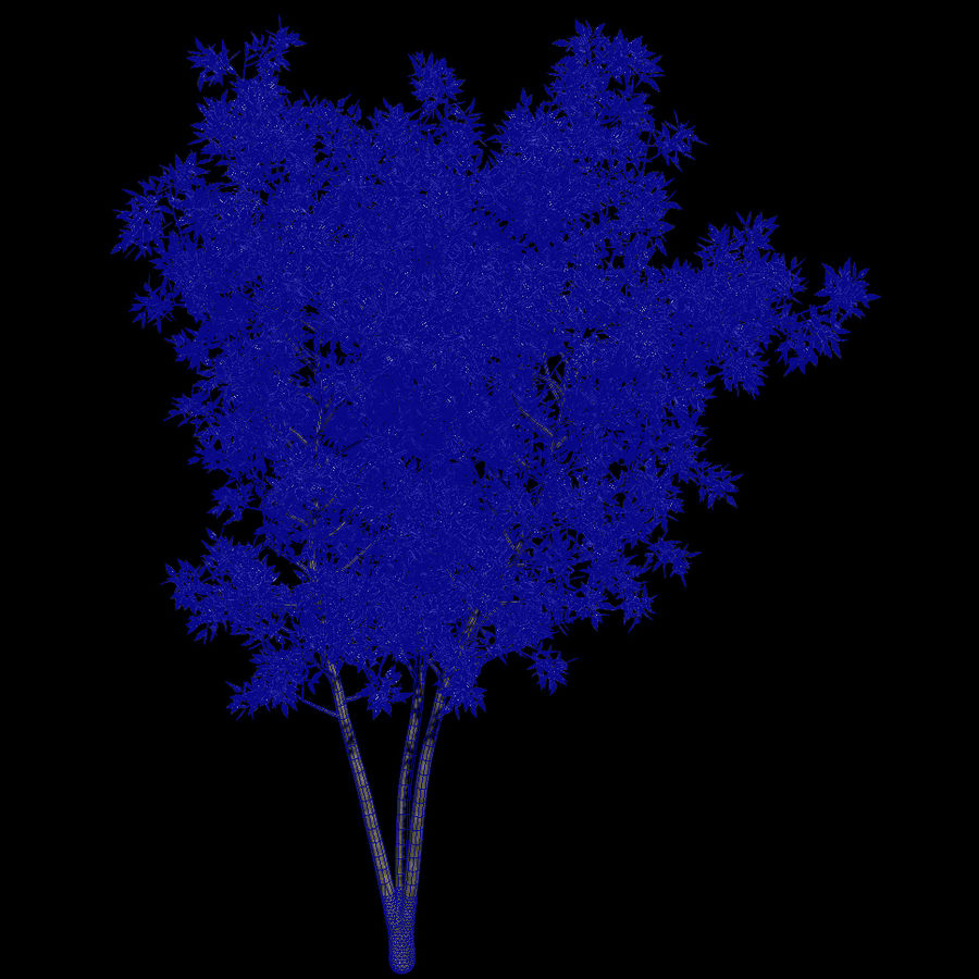plant tree royalty-free 3d model - Preview no. 4