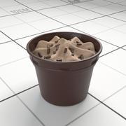 Chocolate Icecream Cup 3d model
