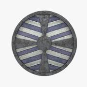 Viking Shield 3d model
