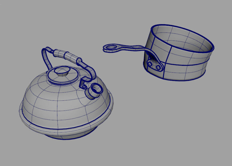 Dish royalty-free 3d model - Preview no. 2