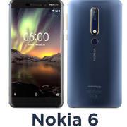Nokia 6 modelo 3d