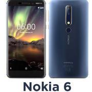 Nokia 6 3d model
