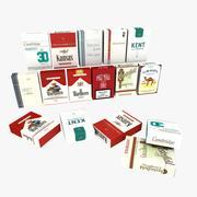 Paquets de cigarettes 3d model