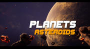 Asteroids Planets - unreal 4 3d model