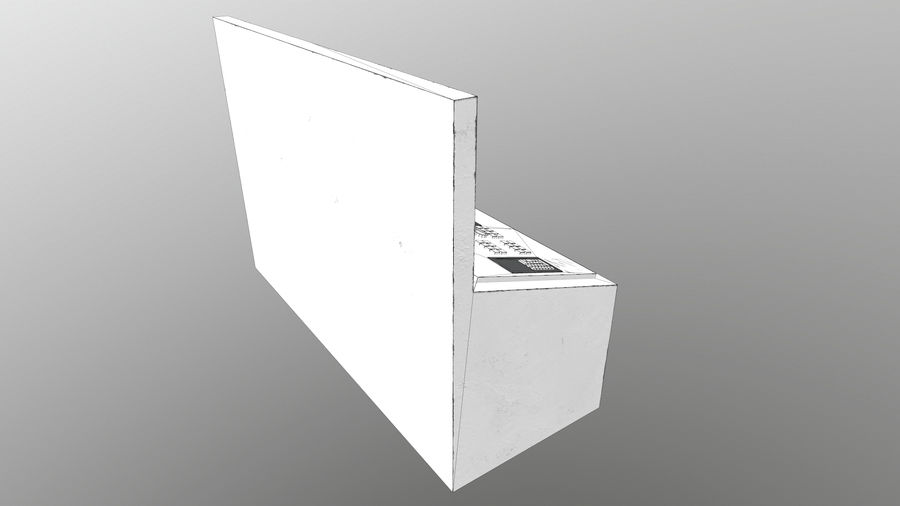 Panel sterowania royalty-free 3d model - Preview no. 5