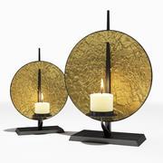 Alexander Lamont - Gold Sun Disc Candleholder 3d model