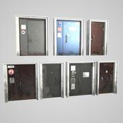 Puerta de metal modelo 3d