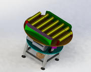 Döner konveyör 3d model