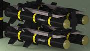 Umtas Rocket / Roketsan 3d model