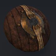 medieval shield 3d model 3d model