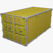 Cargo Container V4 3d model