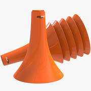 Markers Agility Cones Training 3d model
